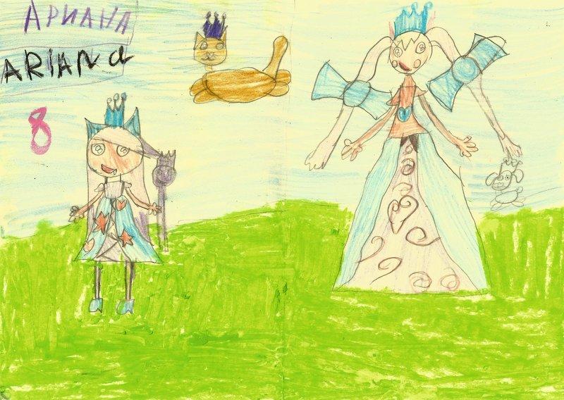 """Nemokama vaikų kurtų pasakų knyga """"Gražiausia ir laimingiausia karalaitės pasaulyje"""""""
